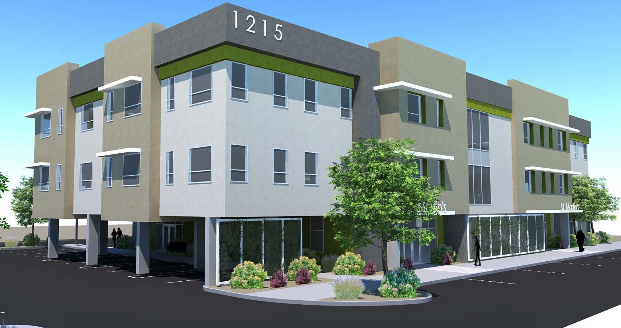 HopeWorks Village rendering